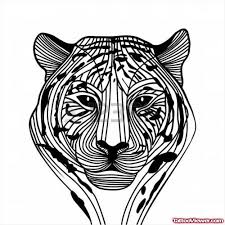 collection of 25 tribal tiger image