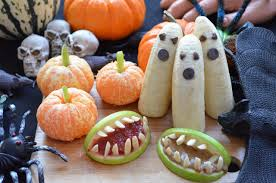 Halloween Appetizer Plates by Super Easy U0026 Healthy Halloween Treats Fablunch
