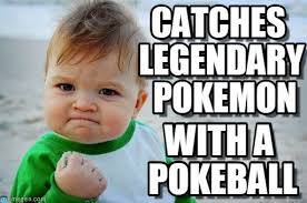 Pokemon Kid Meme - catches legendary pokemon success kid original meme on memegen