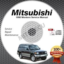 1998 mitsubishi montero service manual cd rom 3 5l 6g74 repair