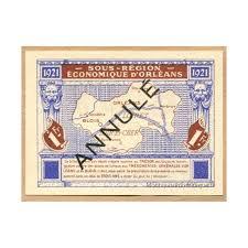 chambre de commerce orleans orlans et blois 1 franc chambre de commerce 21 5 1921 annule