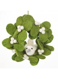 where to buy mistletoe buy mistletoe garland christmas collection felt so
