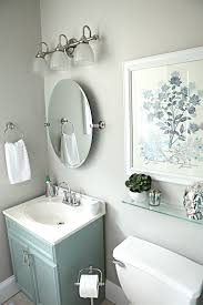Degrassi Mirror In The Bathroom Office Bathroom Reveal Allen Roth Vanities And Turquoise