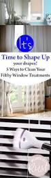 2421 best images about cleaning tips on pinterest popular pins it s time to shape up your drapes 5 ways to clean your filthy window treatments
