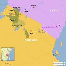 Qatar Airways Route Map by Kenya And Tanzania Migration Fly Safari Country Holidays Hongkong