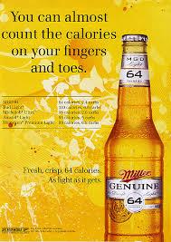 miller genuine draft light miller genuine draft 64 who s counting admonkey