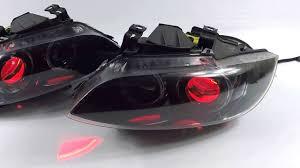 eye bmw headlights bmw e92 headlights jet black interior imola strips