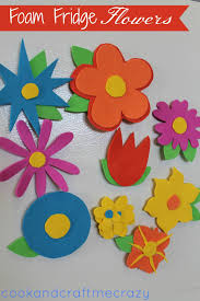 cook and craft me crazy foam fridge flowers