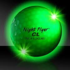 light up golf balls night flyer light up golf balls custom promotional products by