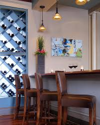 Dining Room Table With Wine Rack how to build a wine rack dining room contemporary with exposed