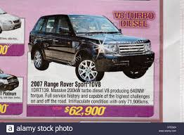 vintage land rover ad range rover stock photos u0026 range rover stock images alamy