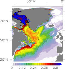 Gulf Stream Map Media Service Geomar Helmholtz Centre For Ocean Research Kiel