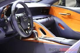 renault dezir concept interior lexus lc 500h 2016 geneva motor show live