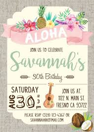 hawaiian invitations hawaiian invitations with stylish