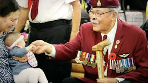 national aboriginal veterans remembrance day winnipeg youtube
