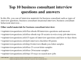 top 10 business consultant interview questions and answers 1 638 jpg cb u003d1427520509