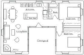 u shaped floor plans with courtyard u shaped house designs house plans u shaped around pool