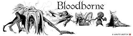 6 minute sketch blood starved beast bloodborne