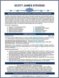 Ndt Technician Resume Example by Skye Is The Limit Resume And Career Solutions