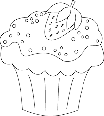 cupcake coloring pages to print cupcake coloring pages coloring page for kids kids coloring
