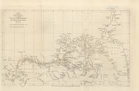 Franklin Maps Maps From The Journal Of The Royal Geographical Society Of London