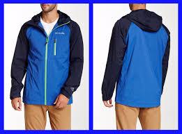 columbia sector reflector exs men s waterproof jacket 150 nwt