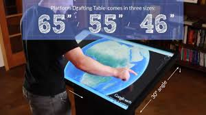 ideum platform multitouch drafting tables 4k ultra hd youtube