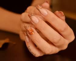 nail art natural nails