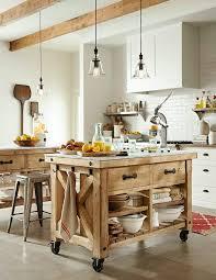 cuisine sur roulettes le îlot à roulettes qui va pimenter le design de votre cuisine