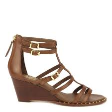 shop ash nuba bis sandals in brown leather online today at ash
