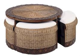 white wicker end table table awesome cream round industrial wicker coffee table ideas to