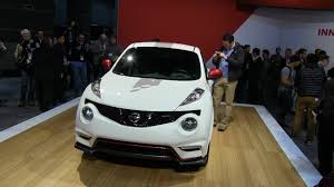 juke nismo 2014 watch the new 2014 nissan 370z and juke nismo debut at the chicago