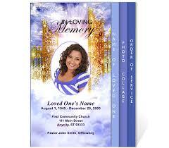 Funeral Program Maker Free Funeral Program Templates Funeral Program Template
