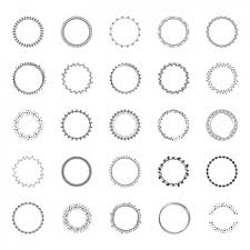 Decorative Frame Png Round Frame Vectors Photos And Psd Files Free Download