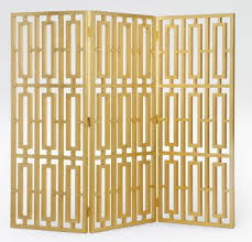 Gold Room Divider by Wonderful Room Dividers From Armani Casa