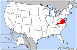 virginia on a map of the usa map of virginia in the usa list of cities in virginia