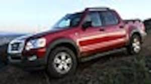 ford sports truck 2007 ford explorer sport trac overview motor trend