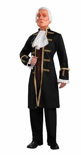amazon com forum george washington mask costume brown one size