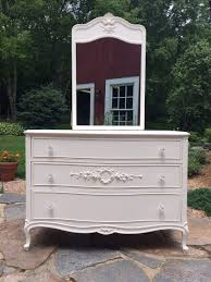 Painted Bedroom Dressers by Vintage Bedroom Dresser Painted Shabby White