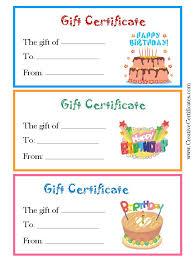 birthday certificate templates free printable imts2010 info