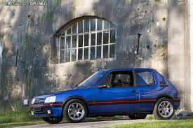 peugeot 205 gti 1 9 youngtimer pinterest peugeot cars and