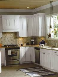 small kitchen backsplash ideas pictures kitchen rustice beige subway tile backsplash with trim row