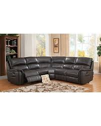 charcoal sectional sofa deal alert amax leather camino leather motion sectional sofa