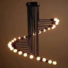 Black Iron Pendant Light Industrial Metal Pendant Lights Vintage Industrial Loft Lighting