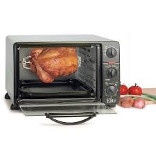 Toaster Oven Broil Maxi Matic Ero 2008n Elite Cuisine Toaster Oven With Rotisserie