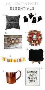 halloween paper products my halloween party essentials to vogue or bust