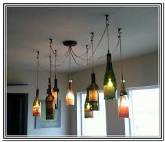 Wine Glass Pendant Light Wine Bottle Lights Hanging Learn To Diy