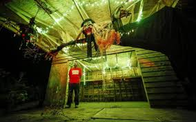 haunted forest at grand farms brings new halloween attraction to
