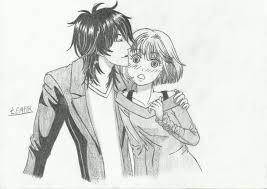 boy kissing the by lempik91 on deviantart