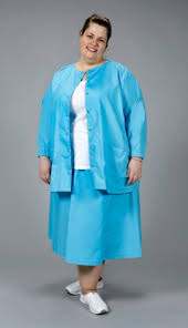 large size scrubs snap front scrub jacket largesizescrubs